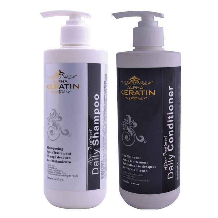 Daily keratin shampoo and conditioner 500ML Package -- To view further for this article, visit the image link. #hairrepair