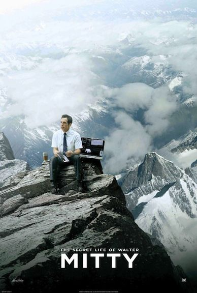 The Secret Life of Walter Mitty- one of the best movie I've seen in a long time!!