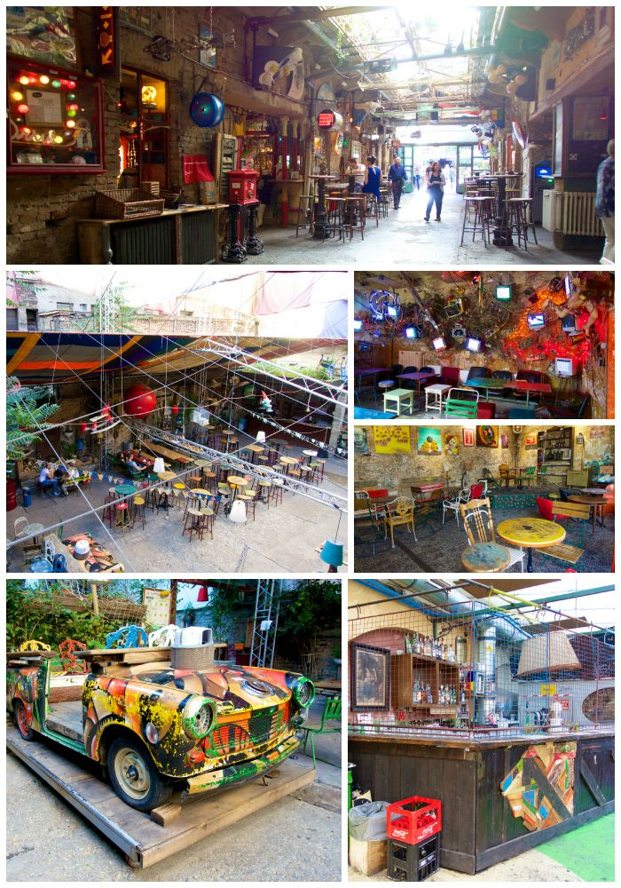 Szimpla Kert Ruin Pub | Ruin Pub's are a thing in Budapest.