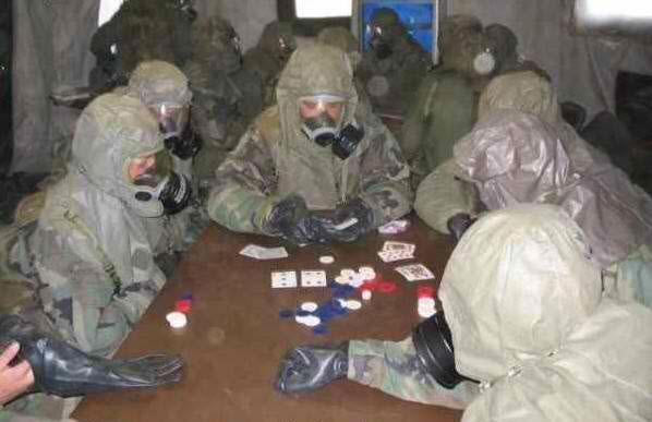 A nuclear poker tournament
