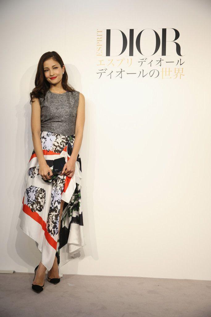 "Meisa Kuroki arrives at the ""Esprit Dior"" Opening Reception on October 28, 2014 in Tokyo, Japan."