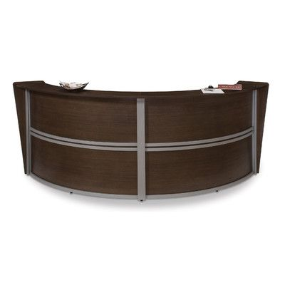 OFM Reception Furniture Double Unit Curved & Reviews | Wayfair Supply