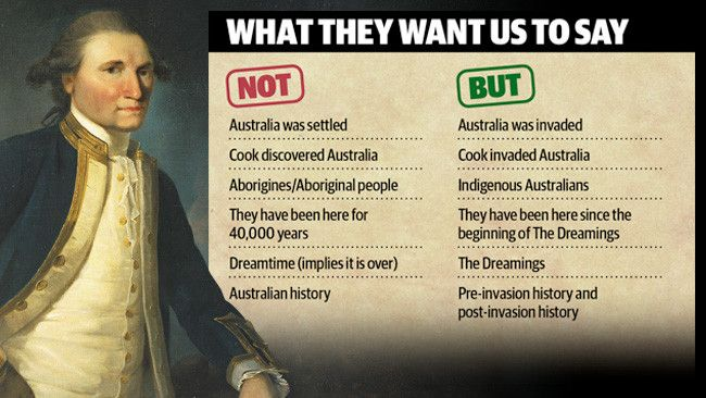 """Propaganda by Murdoch: STUDENTS at a leading NSW university are being told to refer to Australia as having been """"invaded"""" instead of settled in a highly controversial rewriting of official Australian history."""