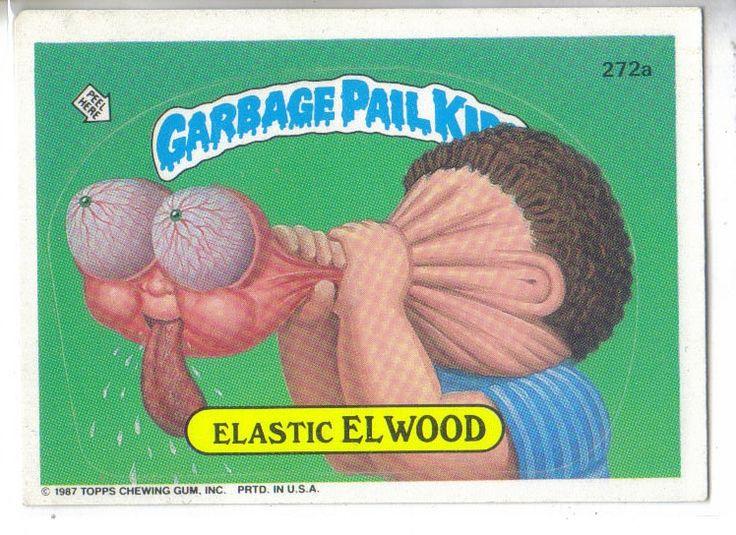 Garbage Pail Kids 1987 #272a Elastic Elwood
