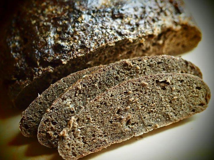 W poszukiwaniu SlowLife: Chleb borodinski - 100% żytni, z kminkiem