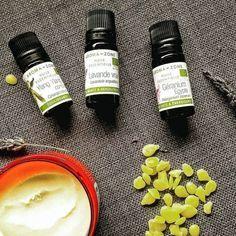 Une recette parfum solide spécial été ! Des notes exotiques: géranium, lavande et yang yang ! sous forme de baume solide dur facile à appliquer