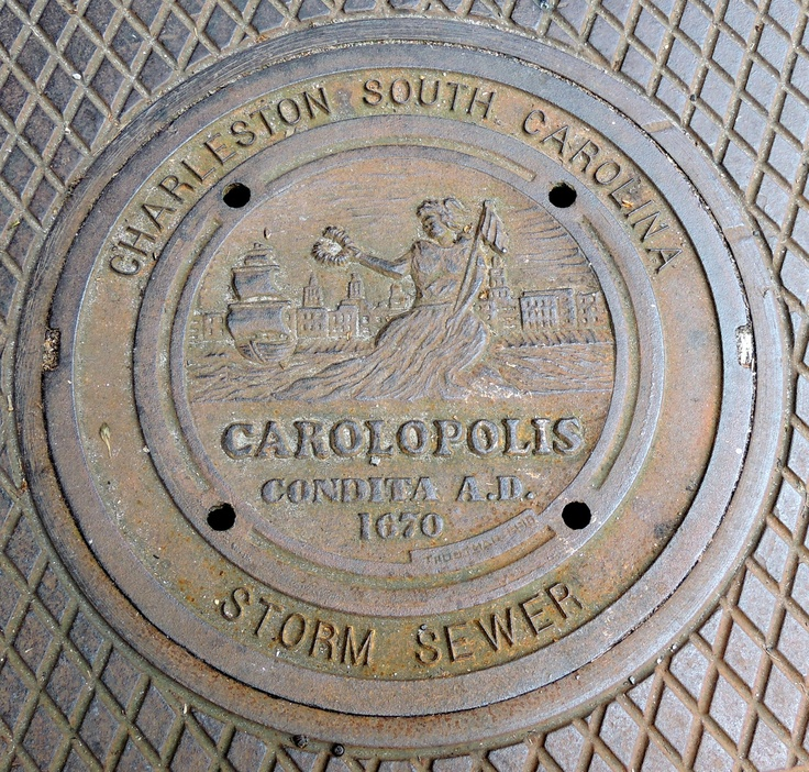 23 best roper house images on pinterest charleston south carolina even the storm sewer covers are beautiful in charleston sc malvernweather Images