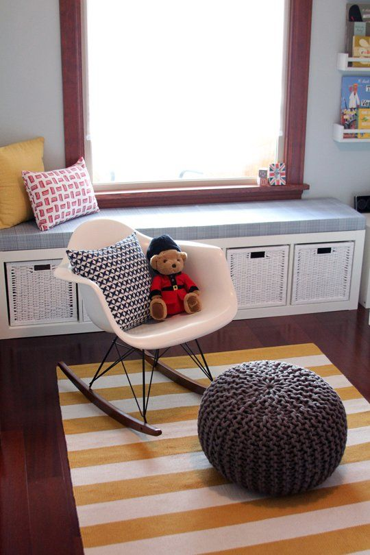 Ikea Expedit Windowseat Bench Storage A Travel Themed Nursery In Seattle My Room