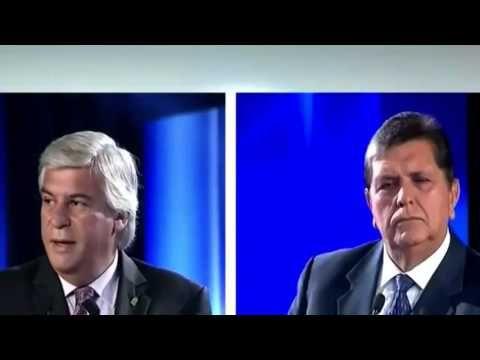 Debate Presidencial Perú 2016 - Olivera vs. García