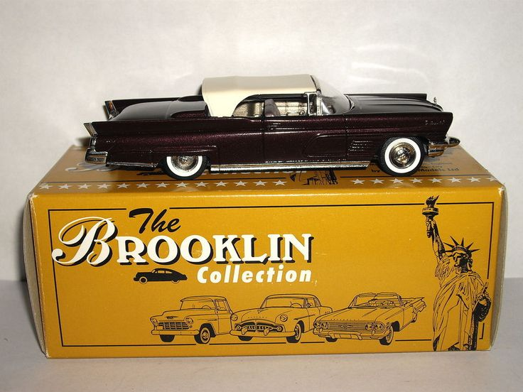 Brooklin Models 1958 Edsel Citation Bcc Special Issue 1991 1 43