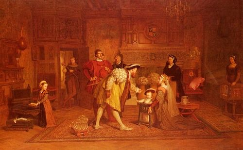 HENRY VIII - WITH HIS CHILDREN - I'D LOVE TO HAVE THIS.