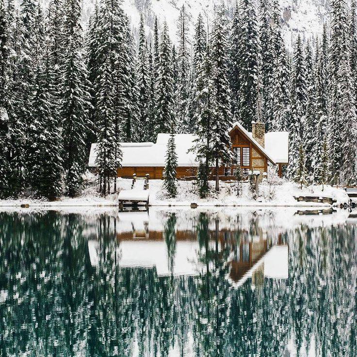 No dobra przyznać się kto marzy o tym aby się tam znaleźć?  #wogrodzienajlepiej #wogrodzienajlepiejpl #ogrod #garden #gardening #winter #winterhouse #forest #snow #snieg #hygge