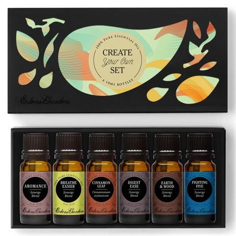 Quot Create Your Own Quot 6 Set Essentials Oil And Aromatherapy
