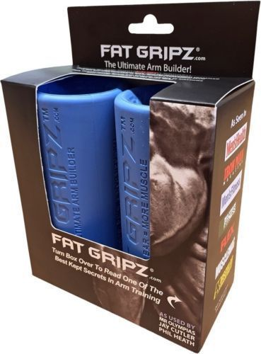 Barbells and Attachments 137864: Fat Gripz The Ultimate Arm Builder Original Bar Grippers -> BUY IT NOW ONLY: $37.5 on eBay!