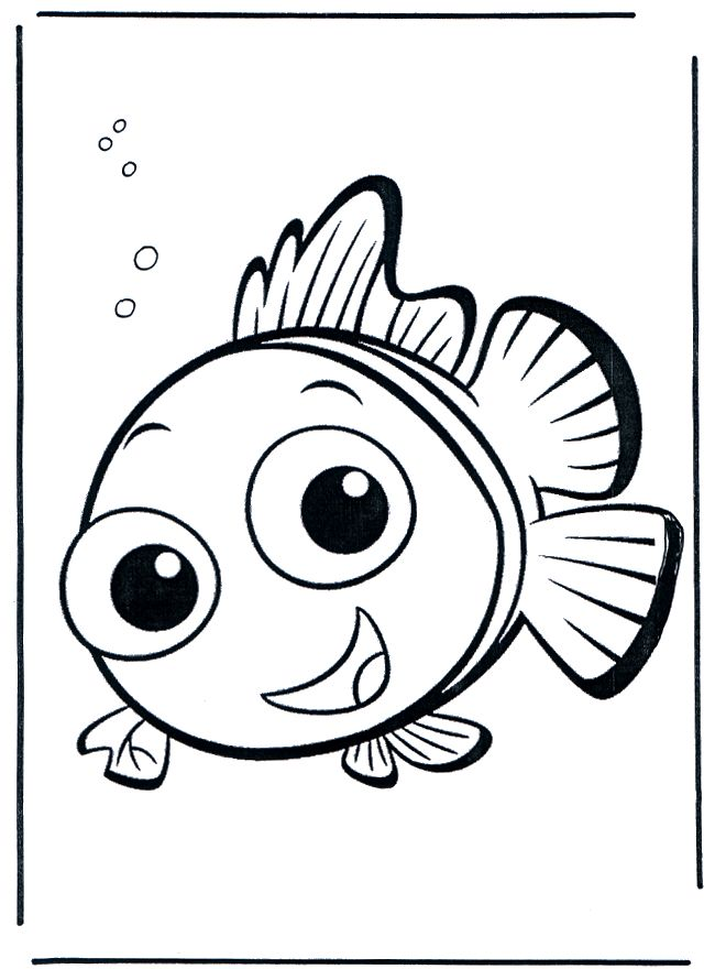 25 best ideas about Finding Nemo Coloring Pages on Pinterest