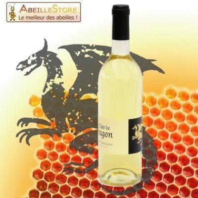Hydromel moelleux - Elixir de Dragon, Alcool de miel au goût raffiné à offrir ou à déguster.