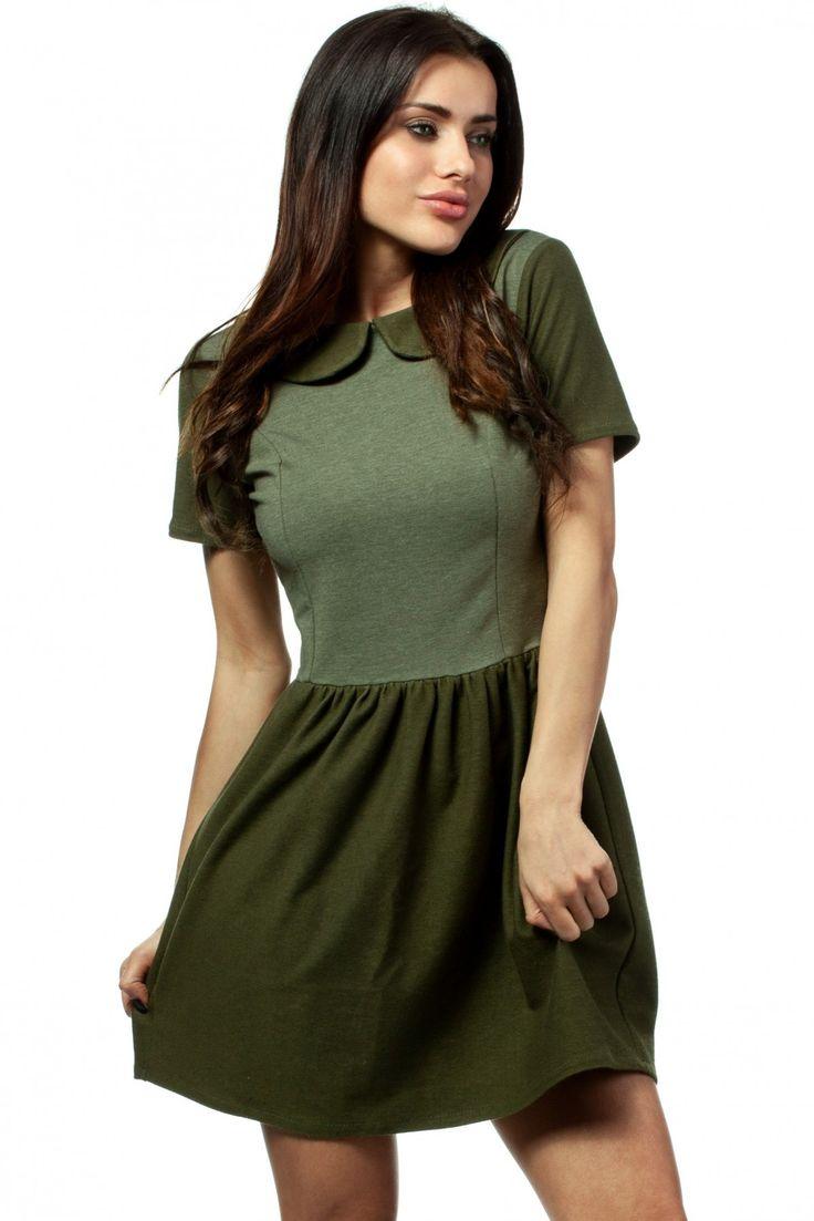 Sukienka Model MOE172 Green #modadamska #sukienkiletnie #sukienka