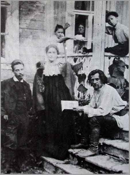 Rainer Maria Rilke and Lou Andreas Salomé