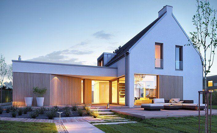 Nowoczesny 2 - wizualizacja 2 - Nowoczesne projekty domów