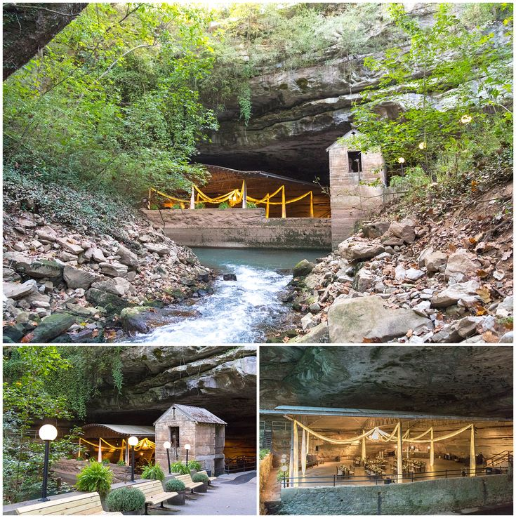 Wedding At Lost River Cave In Bowling Green Kentucky Outdoor Venue