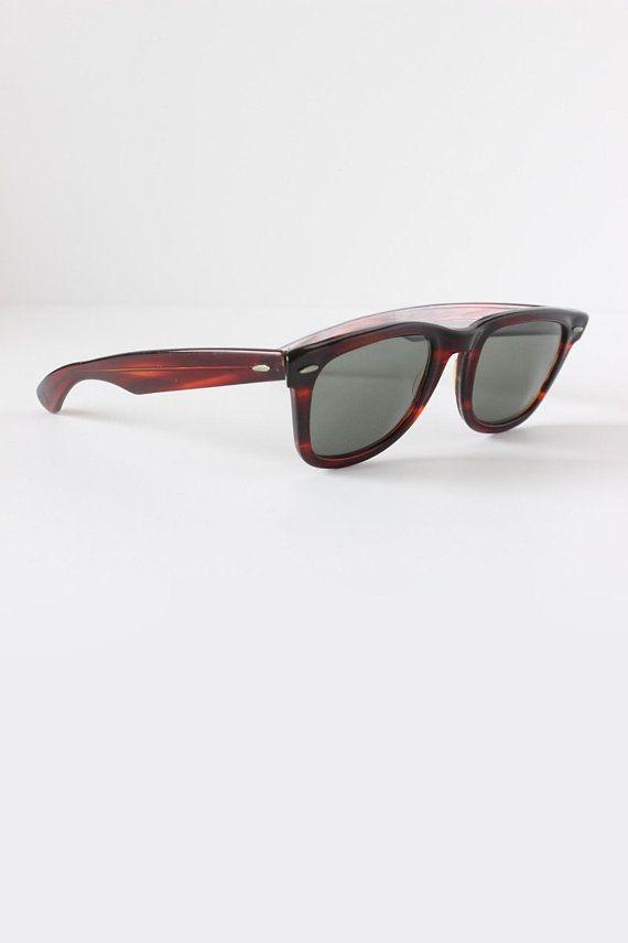 Vintage 1960s B L Ray Ban Wayfarer Sunglasses Rayban Wayfarer Ray Ban Sunglasses Wayfarer Sunglasses