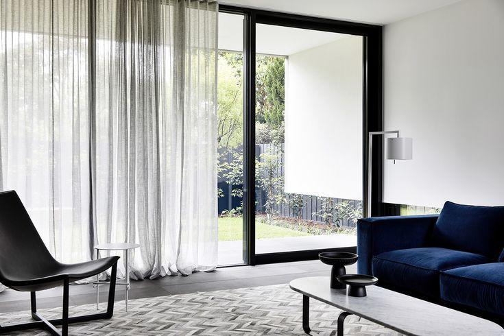 S Fold Curtain In Sheer Joe Silver Fabric Curtains Living