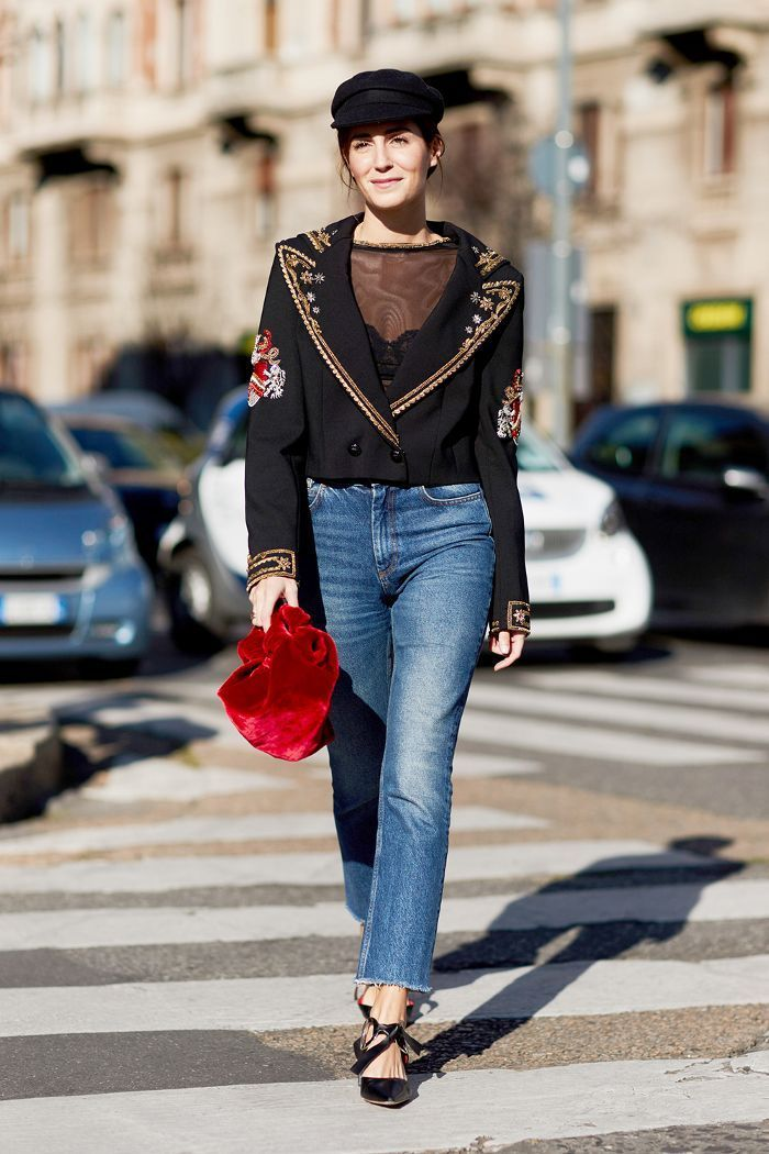 8e164209d5fd See how your favorite street style stars wear jeans with heels and get all  the inspiration you need for your next look.