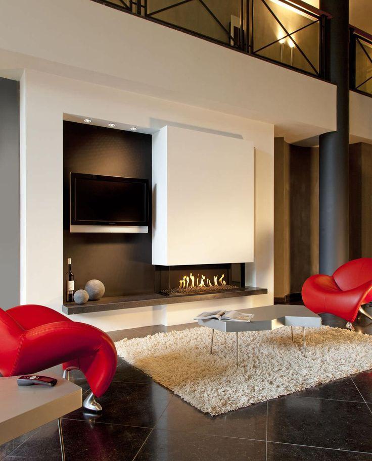 10 mejores ideas sobre estufas modernas en pinterest for Estufa hogar moderna