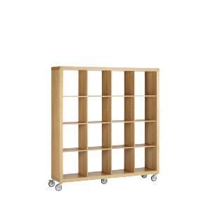 magna grande tag res en bois sur roulettes id ale pour cr er une cloison modulable dans un. Black Bedroom Furniture Sets. Home Design Ideas