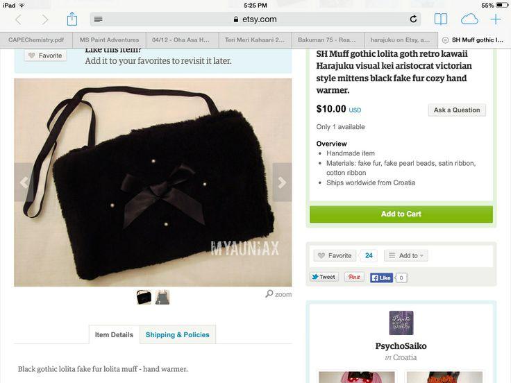 Gothic purse