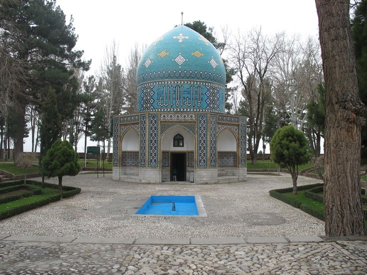 Dome (exterior) of the shrine of the Sufi writer, Attar (Nishapur, Iran)