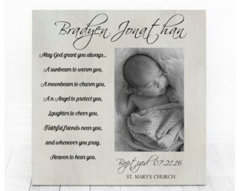 Baptism Gift Boy Personalized Baptism Gift Christening Gifts
