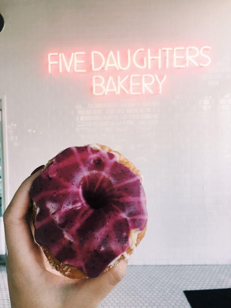 Lemon Blueberry Paleo Donut - Five Daughters Bakery