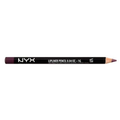 NYX Slim Lip Pencil in PRUNE a violet plum