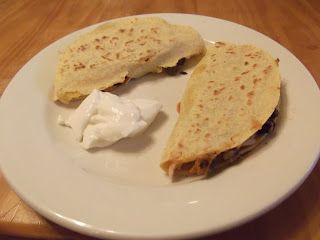 Finding My Inner Skinny Girl: Chicken Quesadillas!