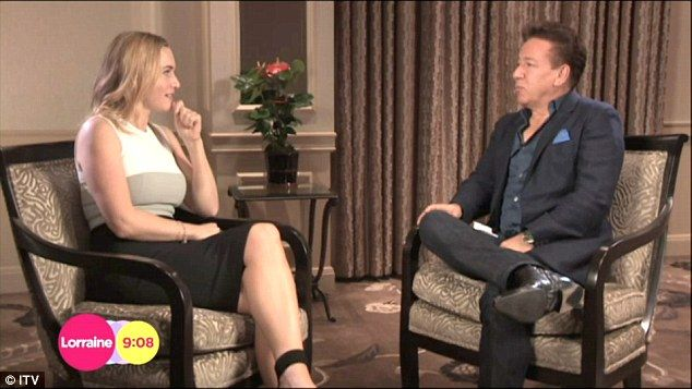 New ventures: The actress chatted to Ross King on ITV's Lorraine about her new role in Ins...
