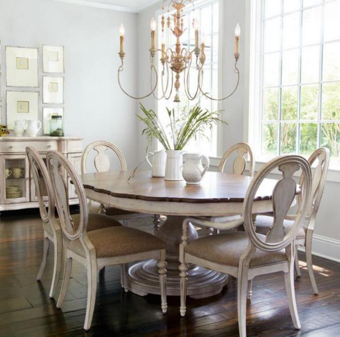 Déco et meubles shabby chic dans la salle à manger comment créer une atmosphère vintage élégante archzine fr miroirs anciensles objetsmeubles