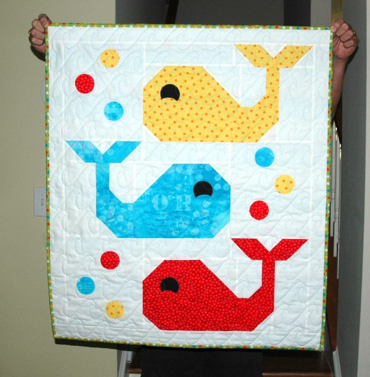 Whale Baby quilt