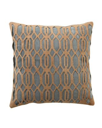 Throw Pillows Neutral : Jamie Young Laser-Cut Pillows - Neiman Marcus Soft furnishings, Cushions etc.. Pinterest ...