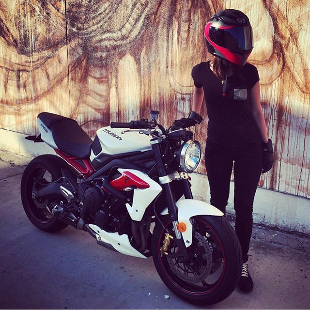 White R Check Out Beh X3 With Her Sweet Street Triple Rocking Our