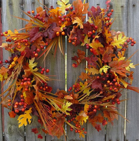 Hey, I found this really awesome Etsy listing at http://www.etsy.com/listing/160869381/fall-wreath-fall-autumn-wreath-fall