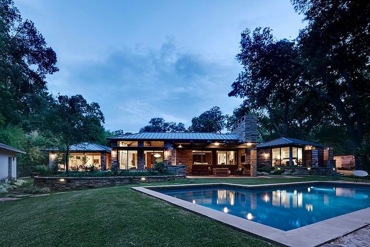 Fisher Road Residence By Domiteaux Baggett Architects House Styles Country Style Homes Residences