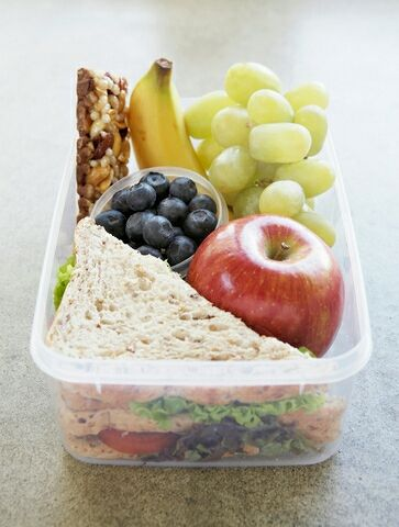 Back to school time! Lunch ideas for kids (and moms).