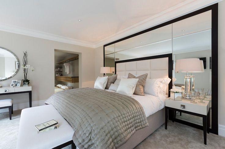 зеркальная стена в спальне - Поиск в Google