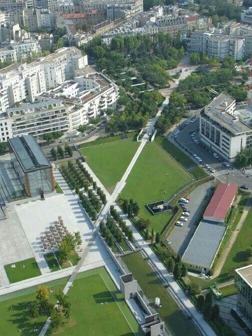 Parc Andre Citroen - Paris, France