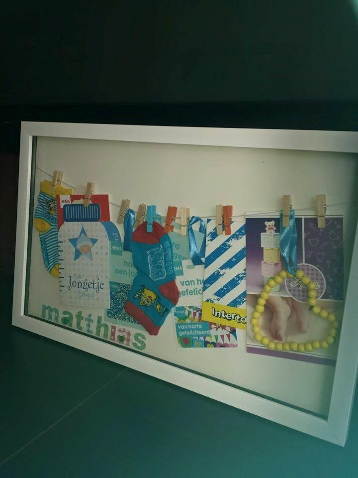Leuk kraamcadeau met spullen van de Action - fb pagina vd Action dankzij Rachani de Vries. Ik zeg maken! - BespaarMama