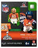 Wes Welker Denver Broncos Bobbleheads