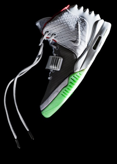 Nike Air Yeezy 2  (Most overly hyped shoe, personally I think is nice as hell)