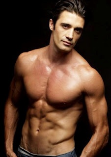 Gilles Marini.  I'll take an order of fries with that ...