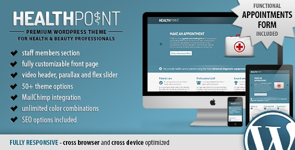 Health Point - Responsive WordPress Landing Page - ThemeForest